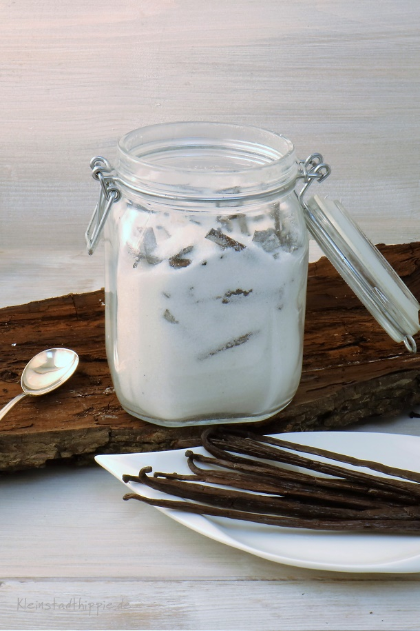 Vanillezucker selber gemacht
