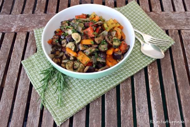 Gemüse aus dem Backofen – mediterran