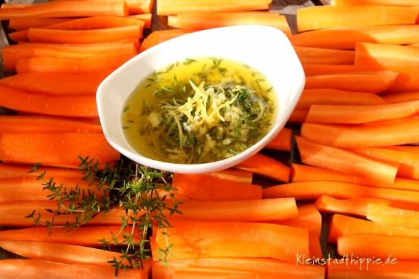 Karotten aus dem Backofen