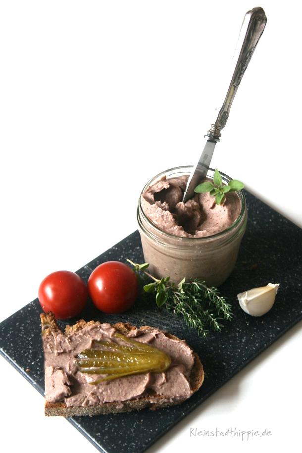 Kidney-Bohnen-Aufstrich von Kleinstadthippie vegan Food Blog