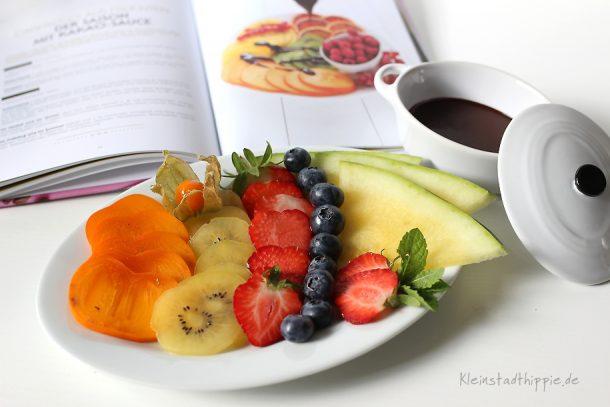 Carpaccio aus Früchten