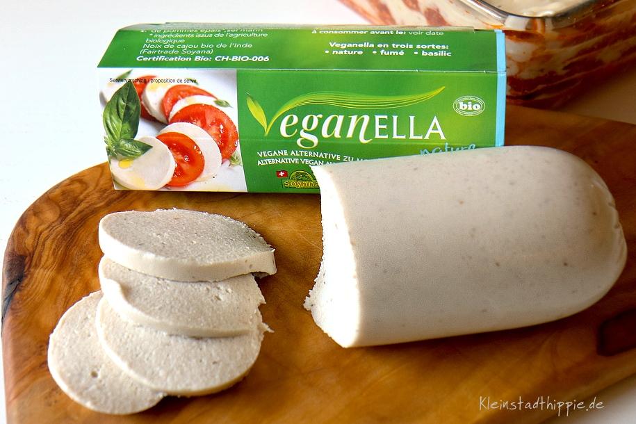 Veganella - vegane Mozzarella-Alternative