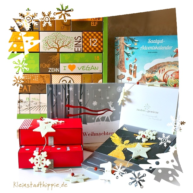 Vegane Adventskalender 2016
