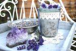 Lavendel-Kokos-Peeling