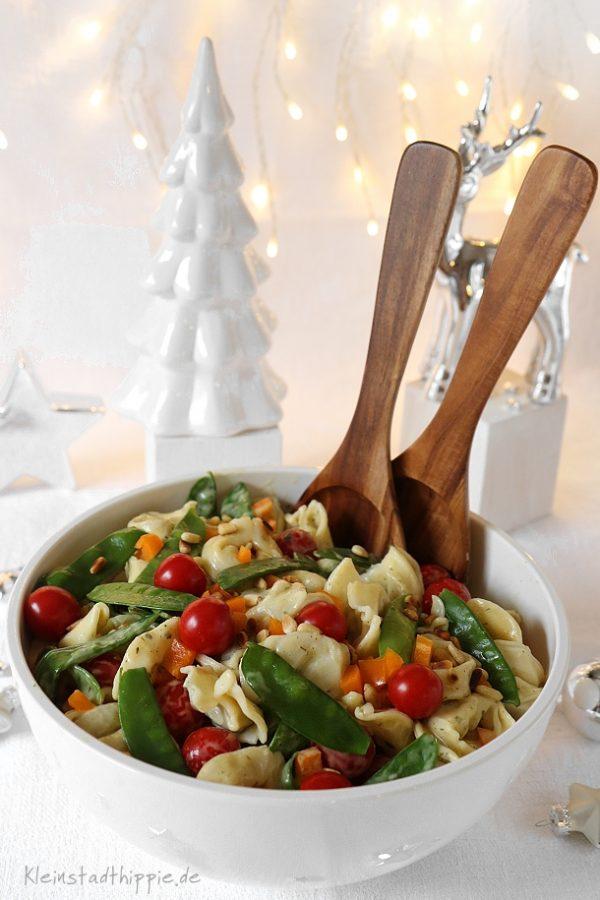 Tortellinisalat für die Silvesterparty