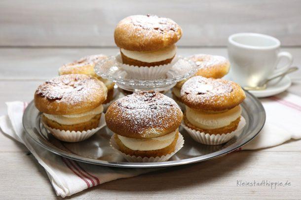 Bienenstich-Cupcakes vegan