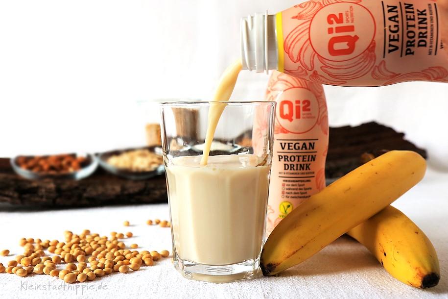 Qi² vegan – ein rein pflanzlicher Proteindrink