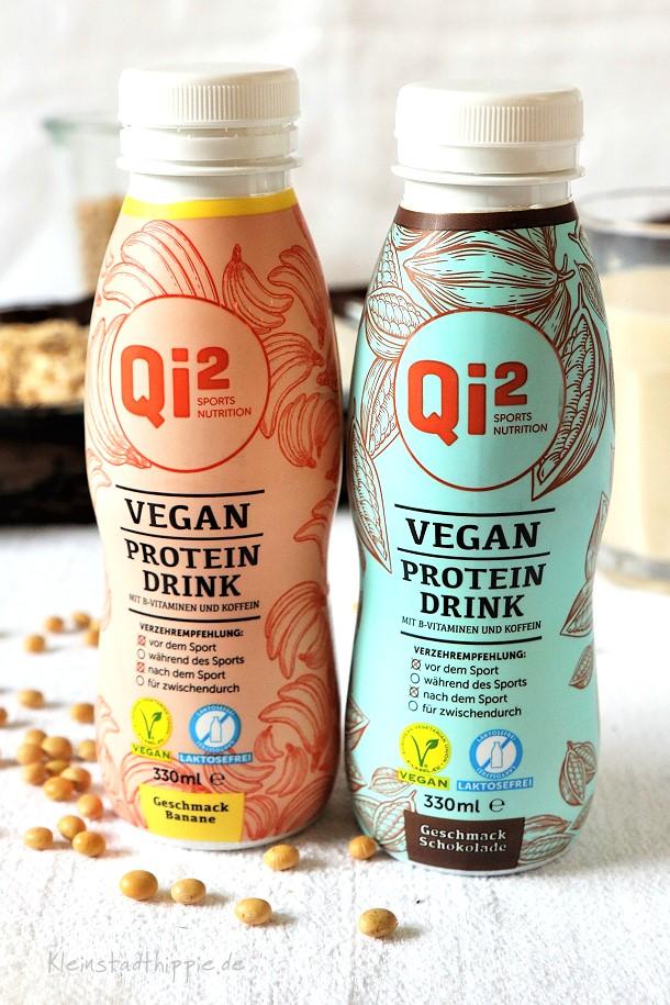 Qi² vegan - ein rein pflanzlicher Proteindrink