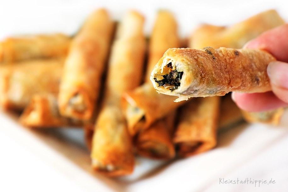 Vegane Zigarren-Böreks