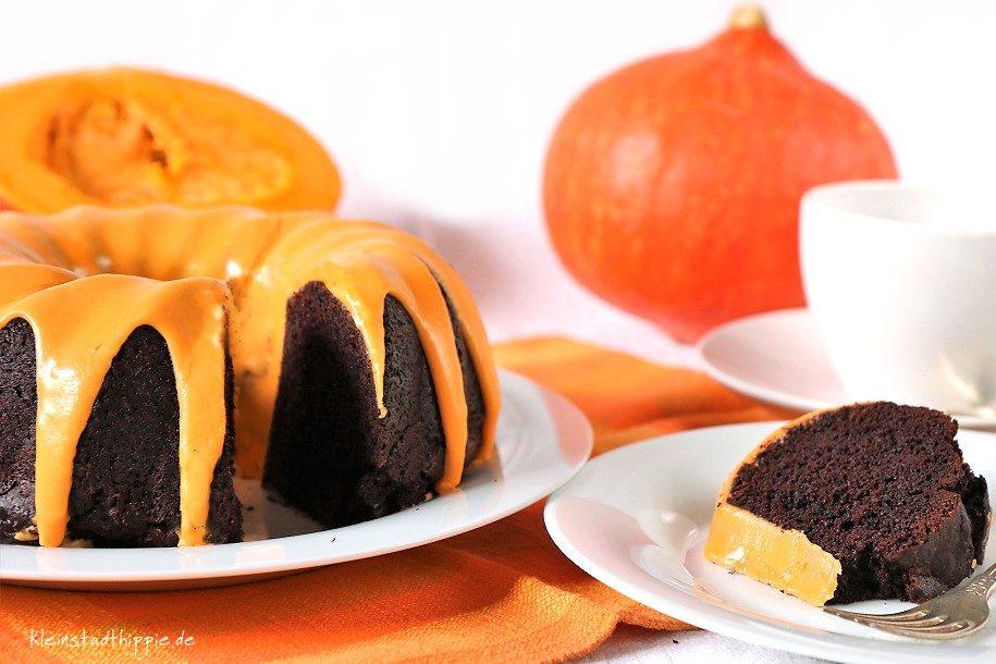 Kürbiskuchen - saftig und fein