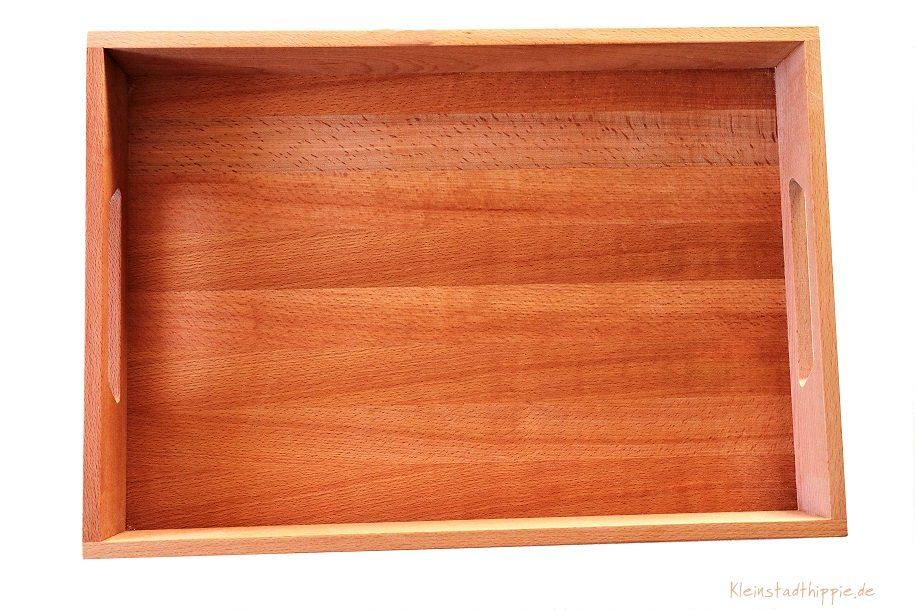 Gewinnspiel – Holztablett Buche