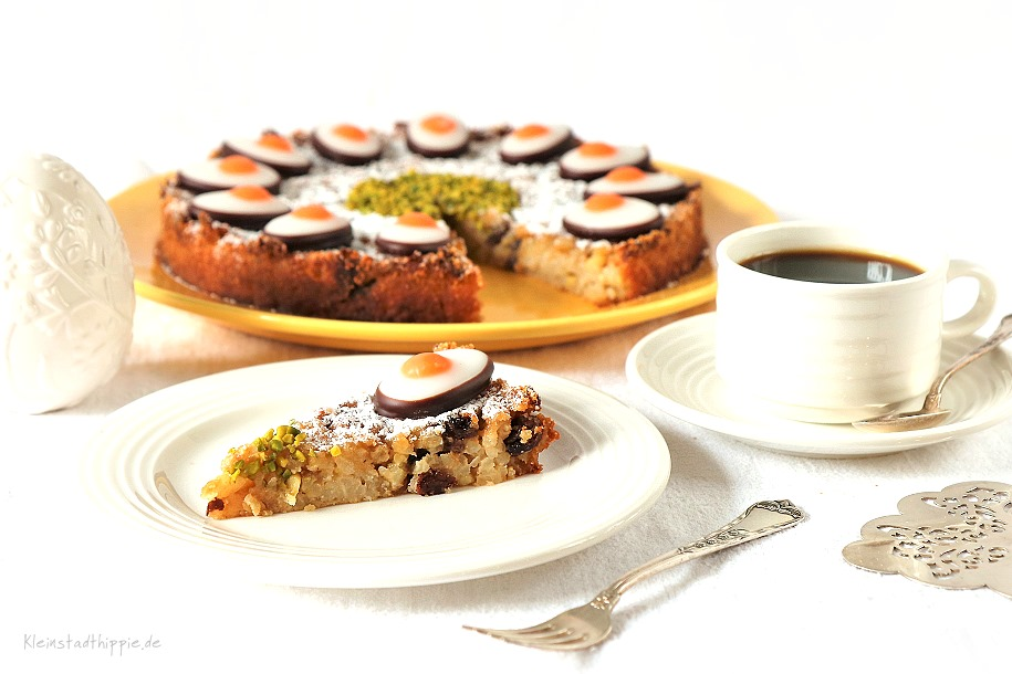 Veganer Italienischer Reiskuchen Torta di riso