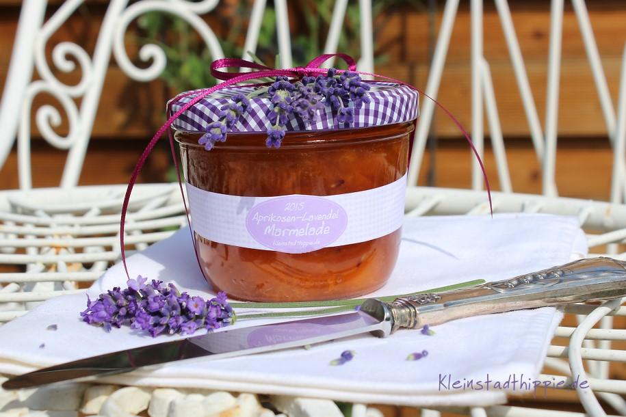 Aprikosen-Lavendel-Marmelade - ein Rezept aus der Provence