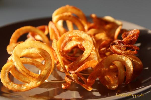 """Kartoffelspiralen oder """"drahde Kartoffel"""""""