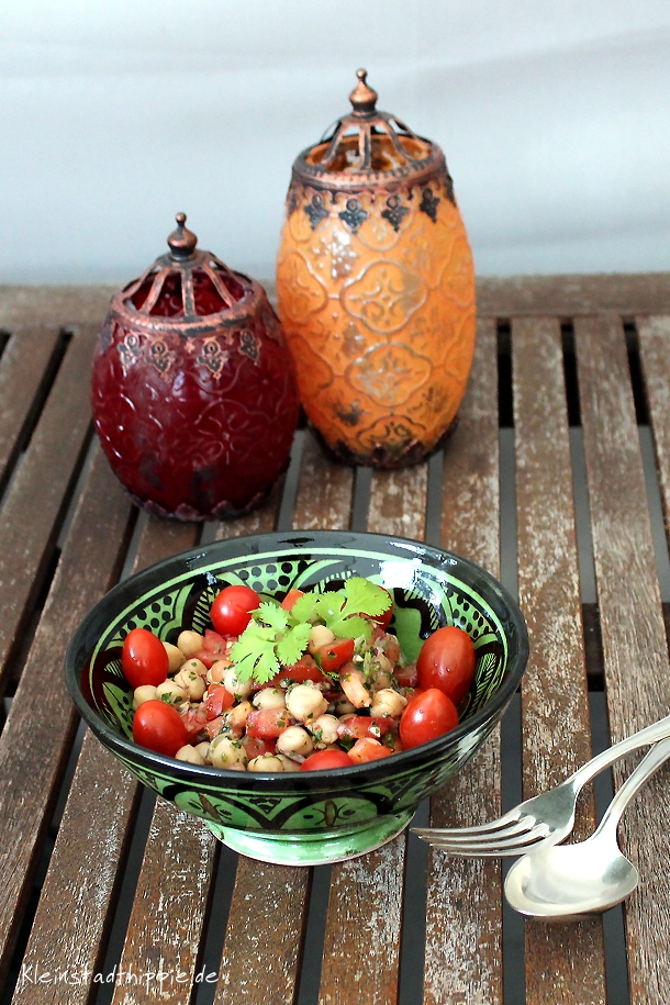 Kichererbsensalat orientalisch vegan