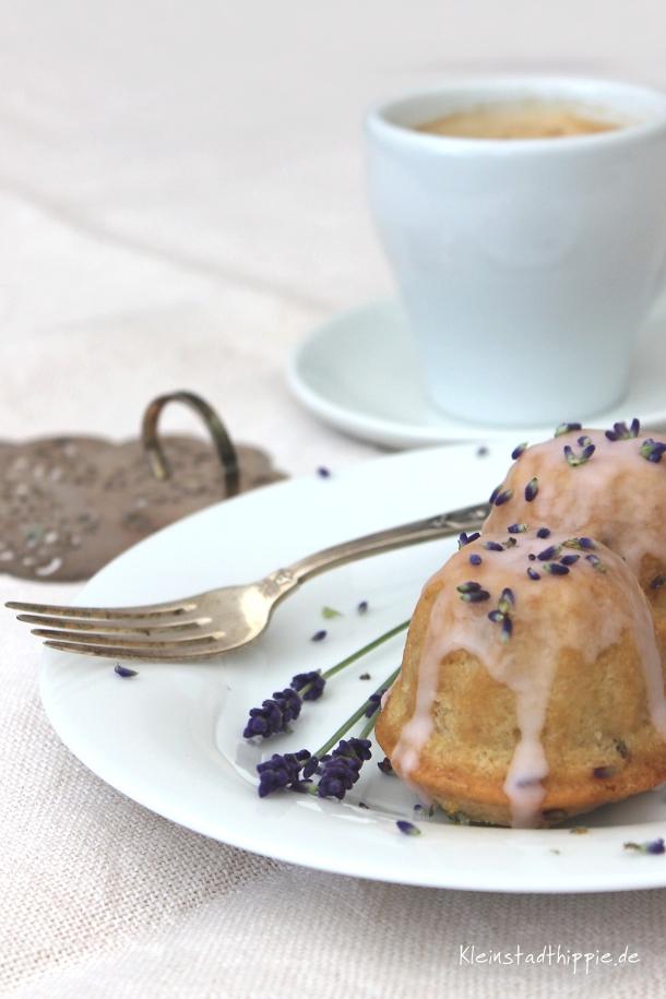 Lavendel-Zitronen-Kuchen - Lavendelzitronenkuchen - Rezept von Kleinstadthippie
