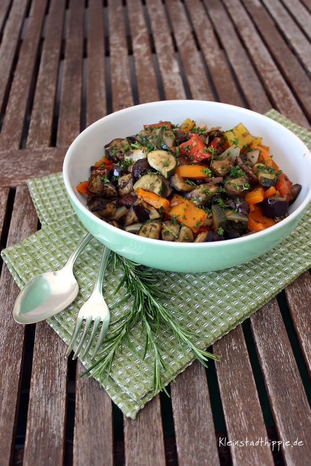 Gemüse aus dem Backofen - mediterran