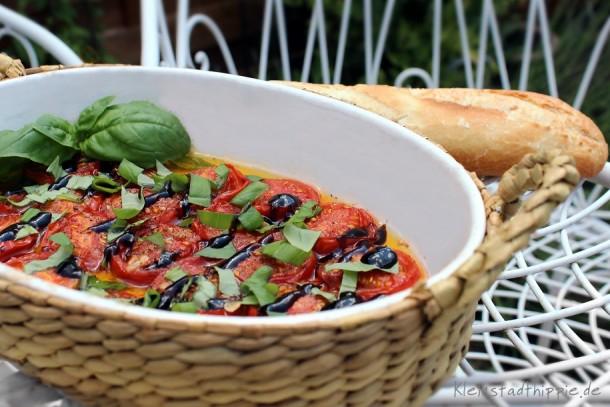 Mediterrane Tomaten aus dem Backofen