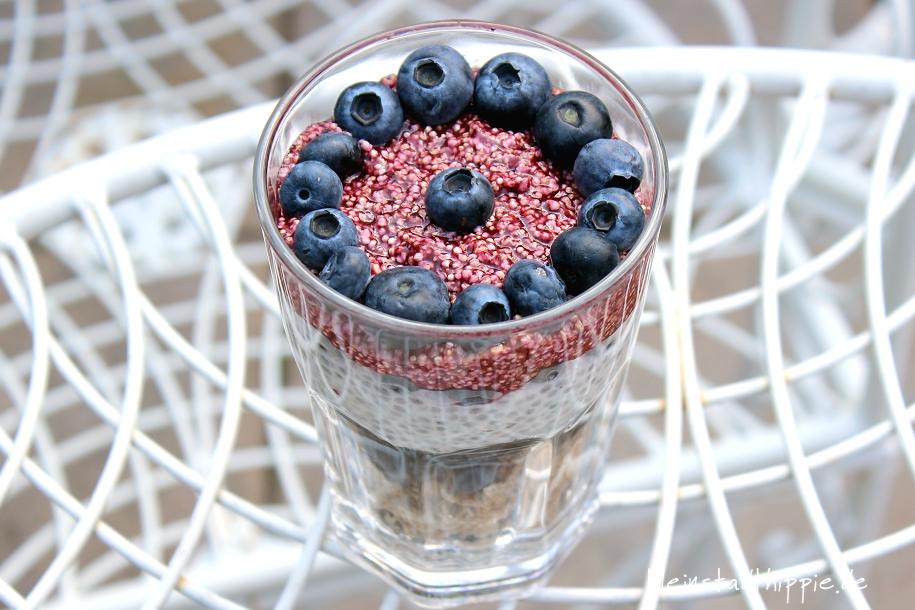 Powerfrühstück-Heidelbeere