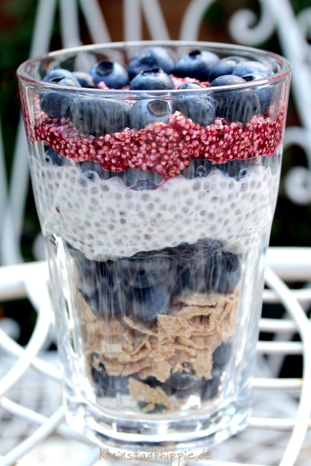 Powerfrühstück-Heidelbeere von Kleinstadthippie vegan Food Blog - Fruchtig, frischer Start in den Tag