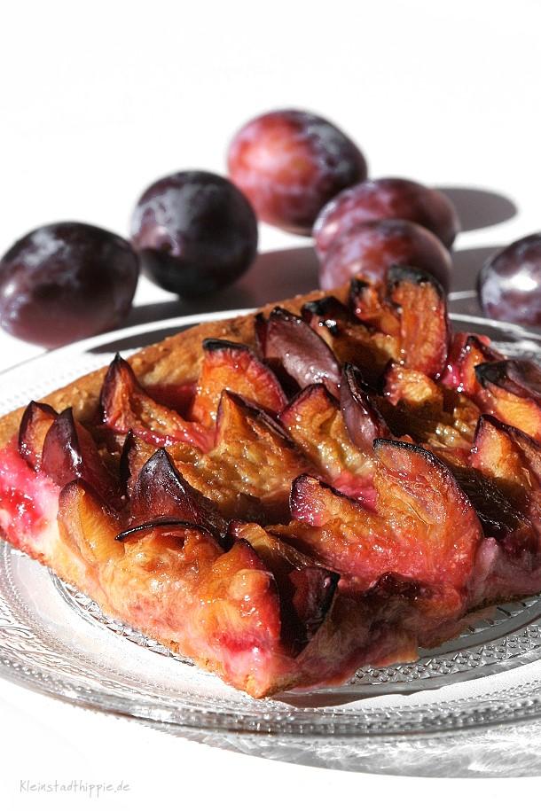 Zwetschgendatschi Zwetschgenkuchen Pflaumenkuchen Rezept für Datschi