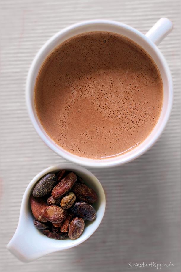 Scharfe Trinkschokolade