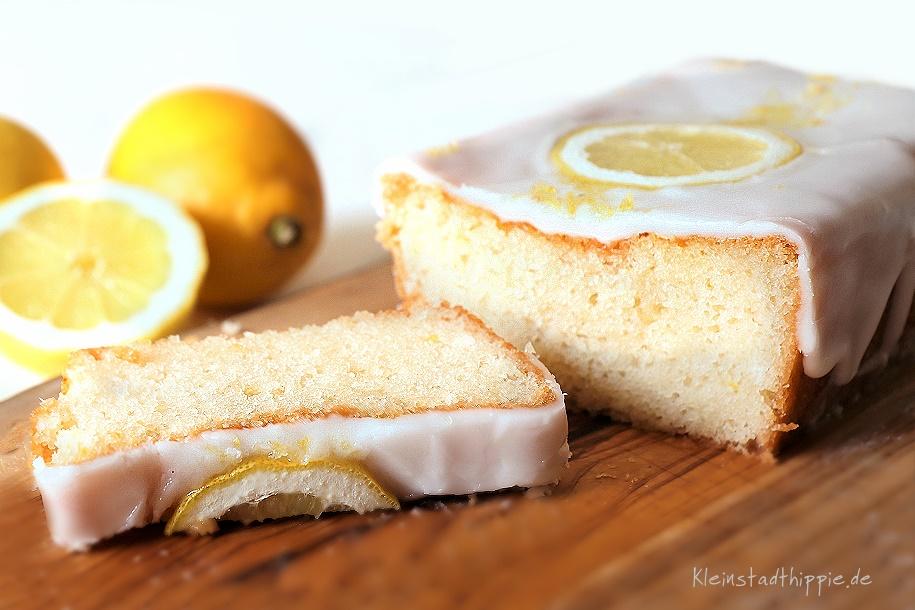 Zitronenkuchen  Zitronenzuckerguss