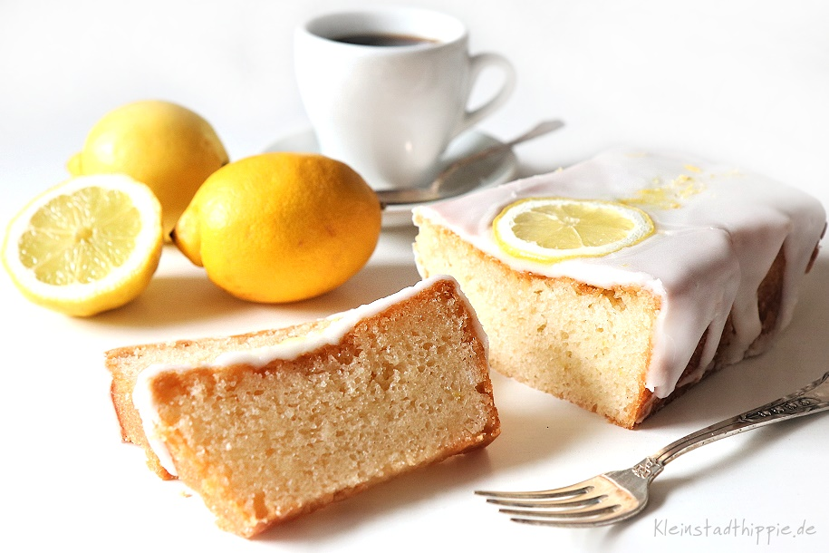veganer Zitronenkuchen - Rezept für veganen Zitronenkuchen