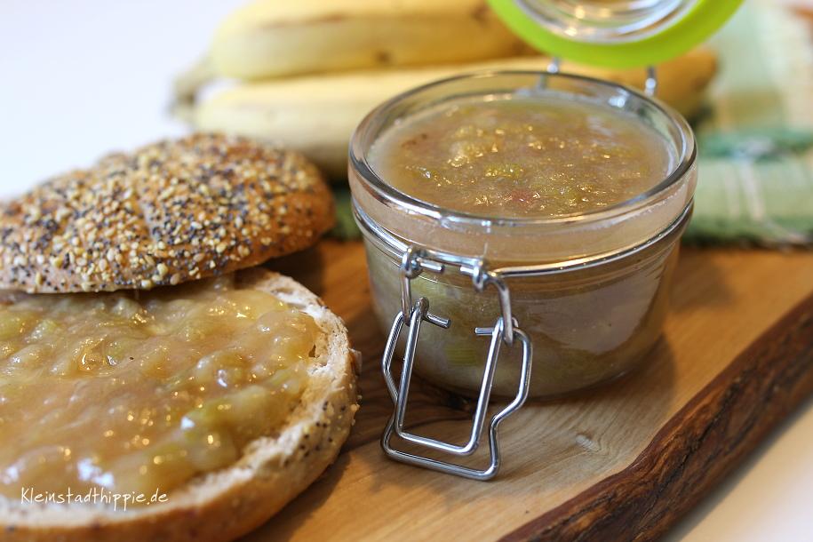 Rhabarber-Bananen-Marmelade