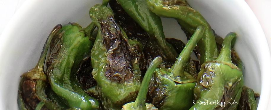 Bratpaprika - Vegane Vorspeisen - Rezepte - Mezze - Tapas