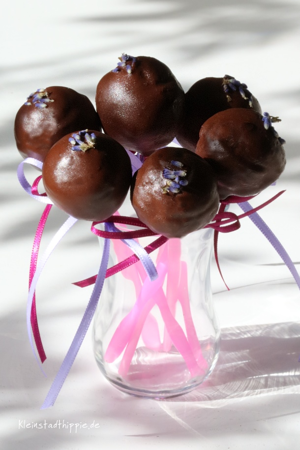 Cakepops Lavendel