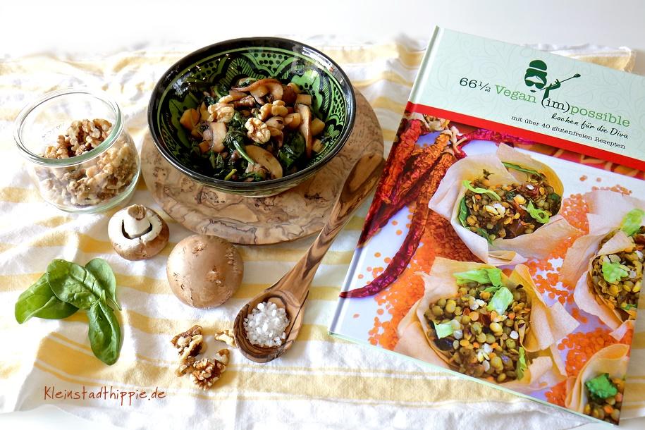 66 1/2 Vegan (im)possible - Vegane Rezepte für die Diva - vegan ernähren bei Multiple Sklerose