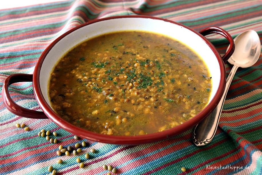 Mungbohnensuppe | Vegane Rezepte | Kleinstadthippie Vegan Food Blog