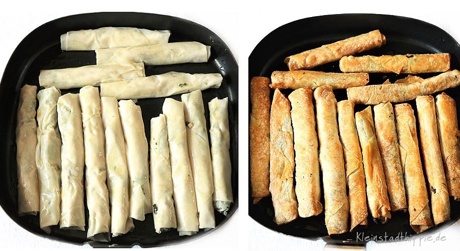 Zigarren-Böreks aus dem Airfryer