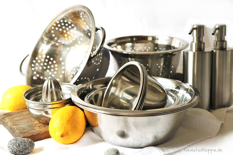 In der Küche kann man prima Plastik ersetzen