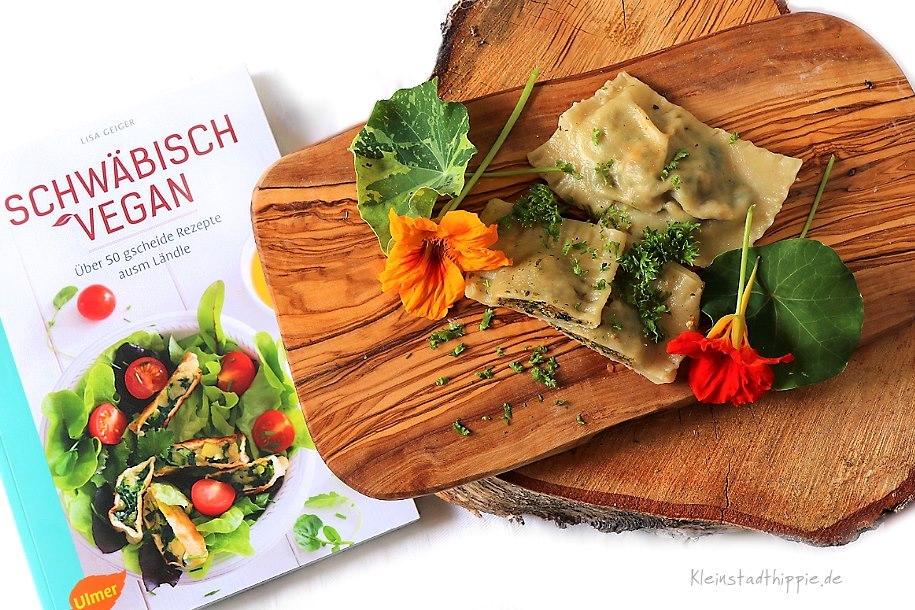 """Das Buch """"Schwäbisch vegan"""" von Lisa Geiger"""