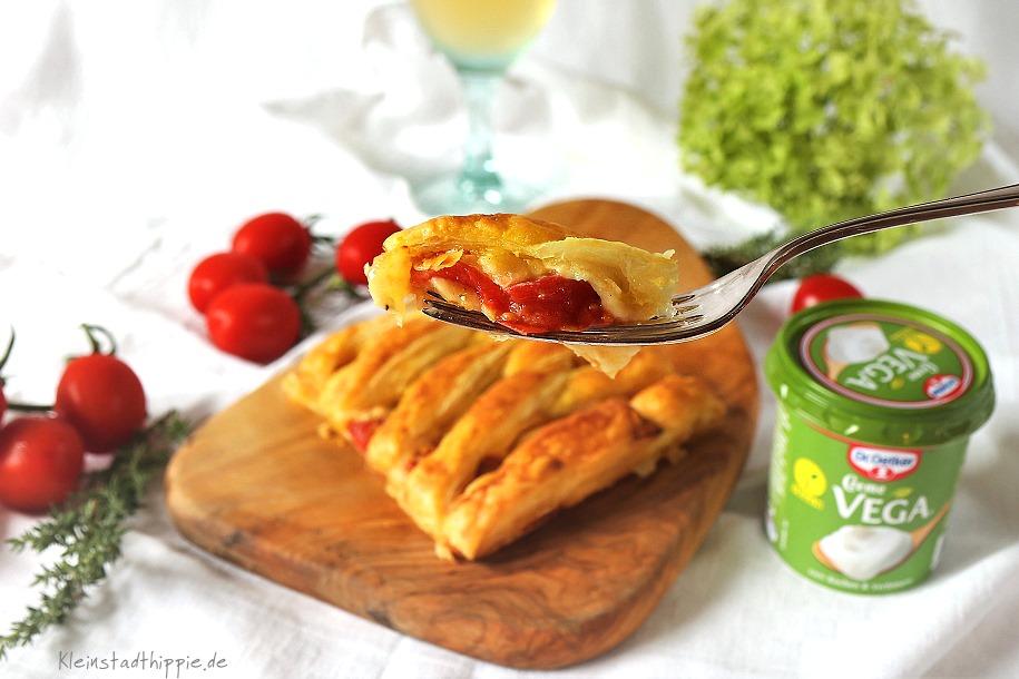 Tomatenstrudel mit Creme Vega von Dr. Oetker
