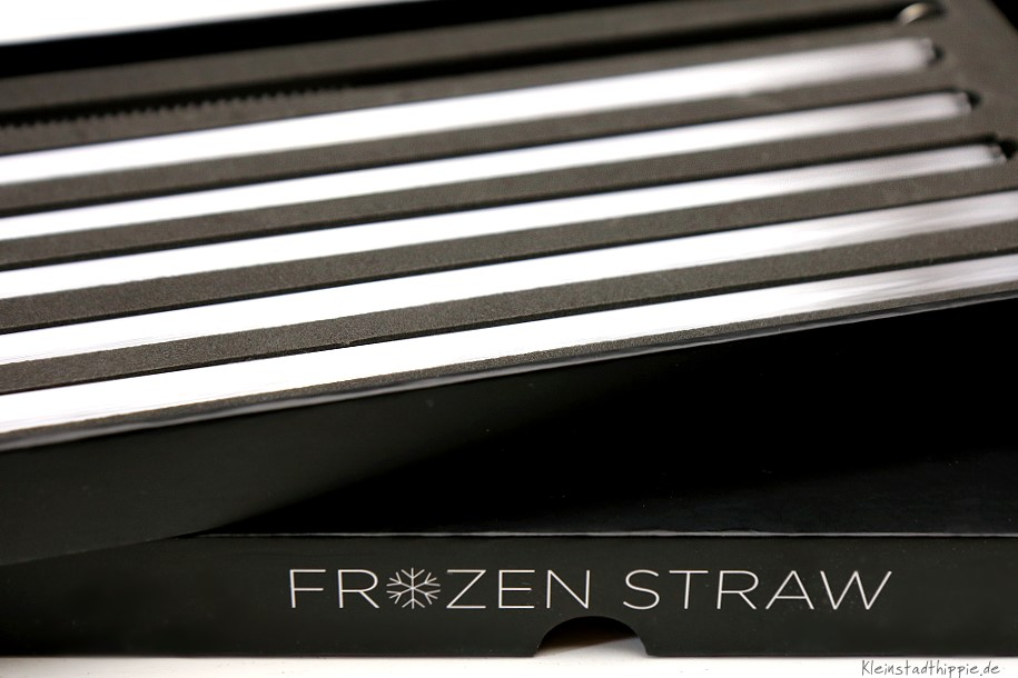 Frozen Straw - Glastrinkhalme