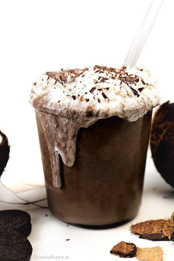 Yummie! Leckeres Getränk aus Kokos und Oreo