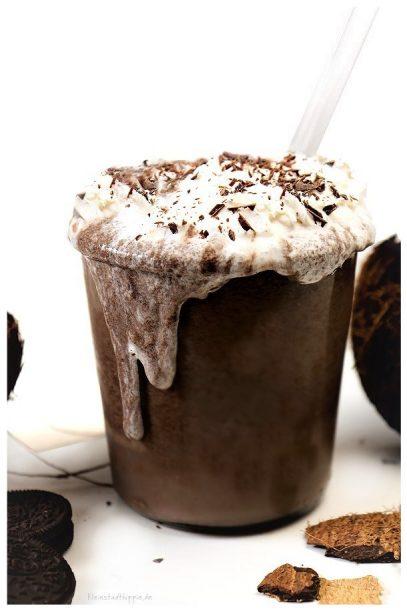 Oreo-Shake - vegane Getränke von Kleinstadthippie Vegan Blog