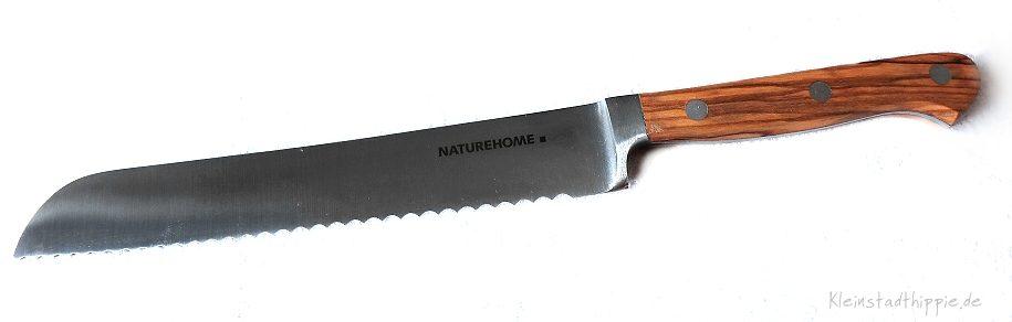 Brotmesser mit Olivenholzgriff von NATUREHOME