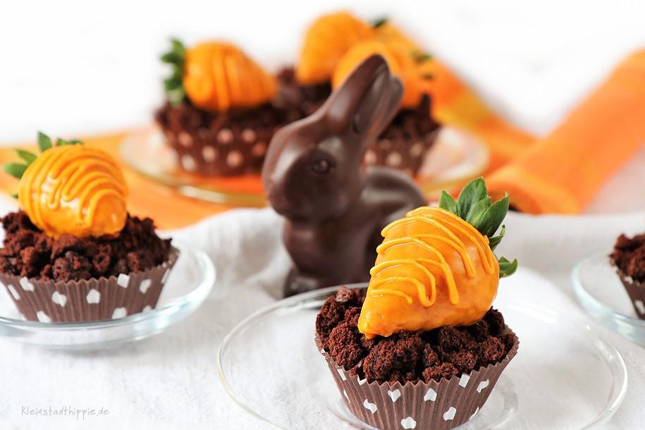 Oster-Schokoladen-Cupcakes