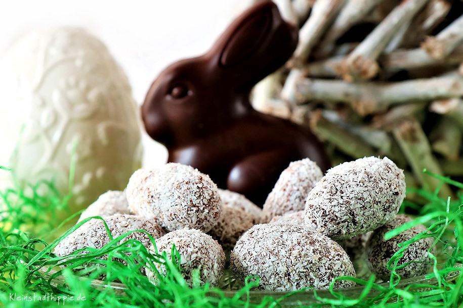 Schokoladen-Kokos-Ostereier