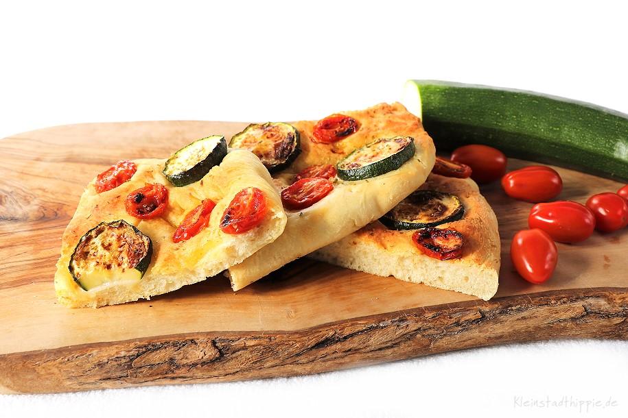 Gemüsefladenbrot - Rezepte aus dem Airfryer