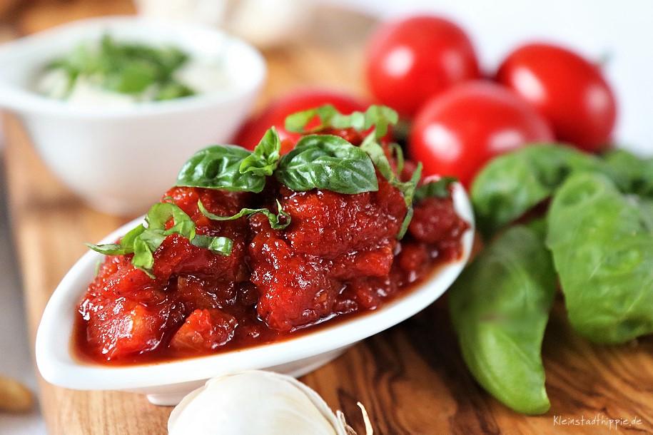 Fruchtiger Tomatendip - vegane Rezepte von Kleinstadthippie