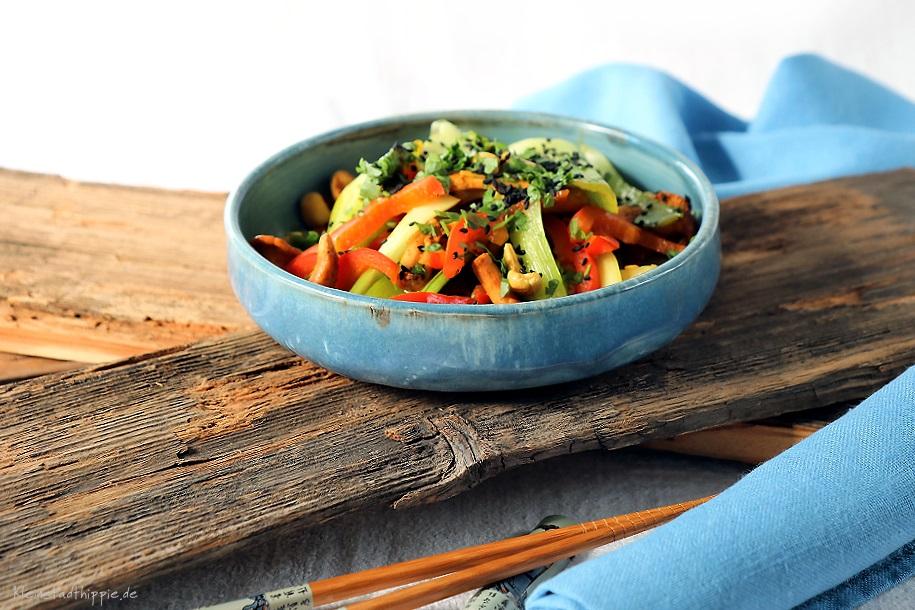 Gemüse - vegan - aus dem Wok - leichte Rezepte