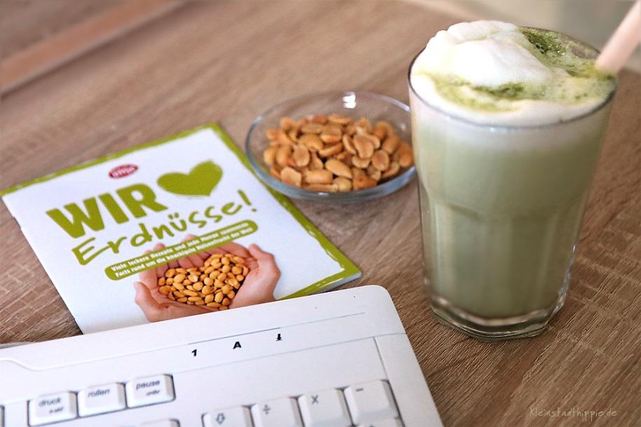 Matcha und Erdnüsse - Powersnack im Büro - Futter fürs Gehirn