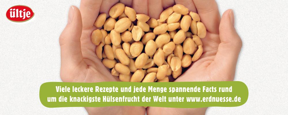 Die Erdnnüsse – Proteinpower von ültje