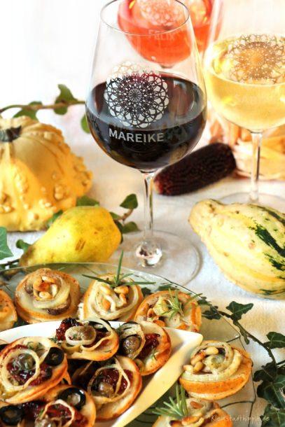 Weingläser mit gravierten Namen - psersonalisierte Geschenke von Erwin Müller für Freunde oder Kunden