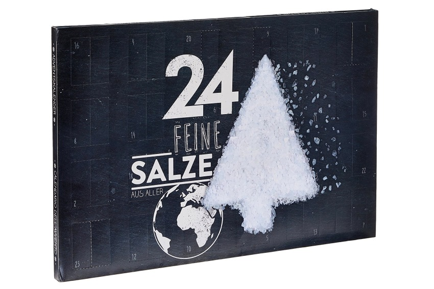 Vegane Adventskalender - 24 verschiedene Salze